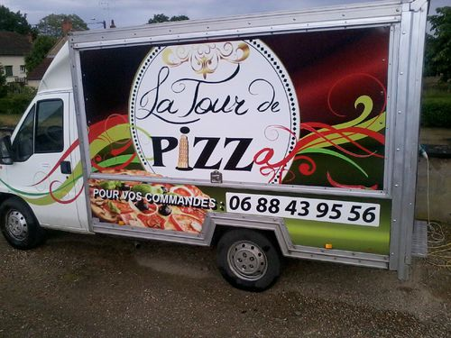 la tour de pizza camion pizza saint martin des lais camions pizza 03 livraison de pizzas. Black Bedroom Furniture Sets. Home Design Ideas